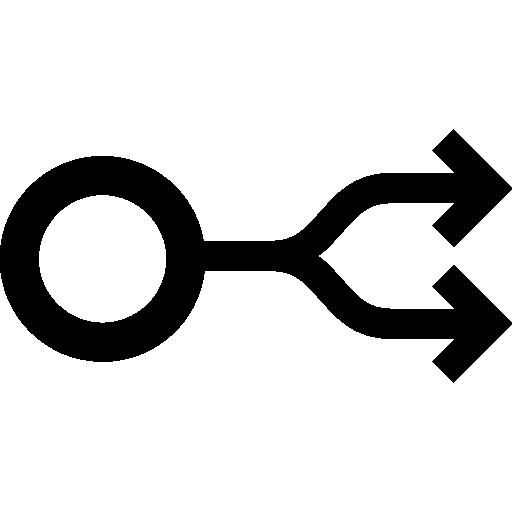 그래프 포크  무료 아이콘