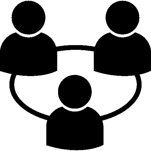 relation utilisateurs  Icône gratuit