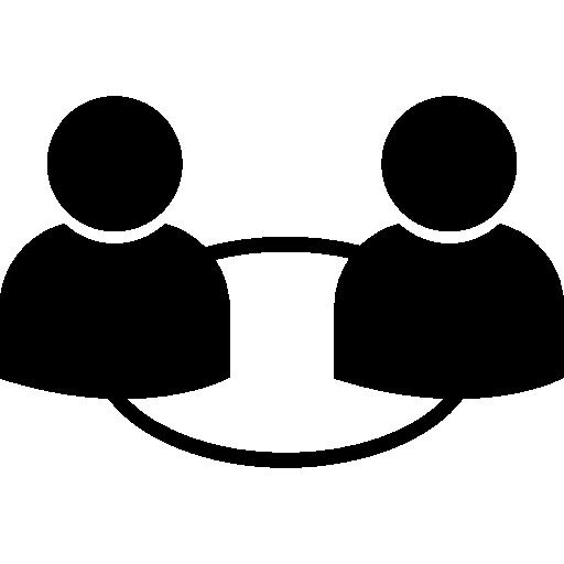relação de usuários  grátis ícone