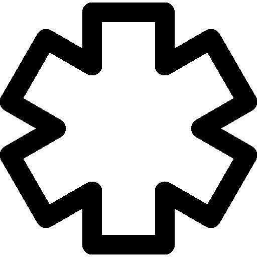 variante de contour d'astérisque  Icône gratuit