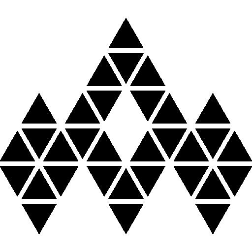 polygonales juwel  kostenlos Icon