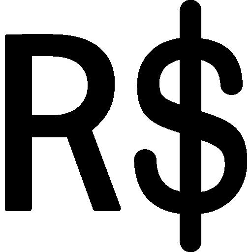 símbolo real do brasil  grátis ícone