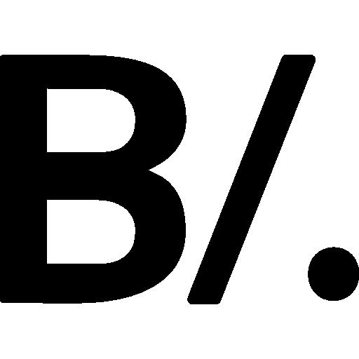 símbolo da moeda balboa do panamá  grátis ícone