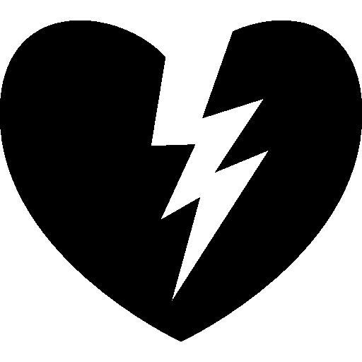 coeur brisé  Icône gratuit