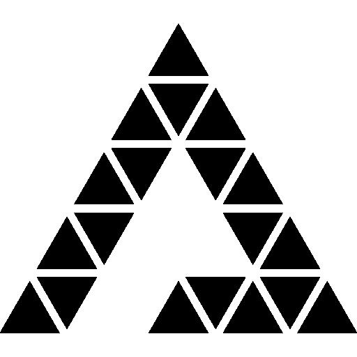dreieck der dreiecke  kostenlos Icon