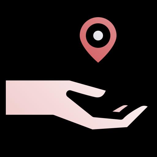 emplacement  Icône gratuit