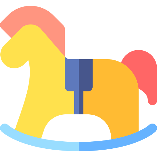 Rocking horse  free icon