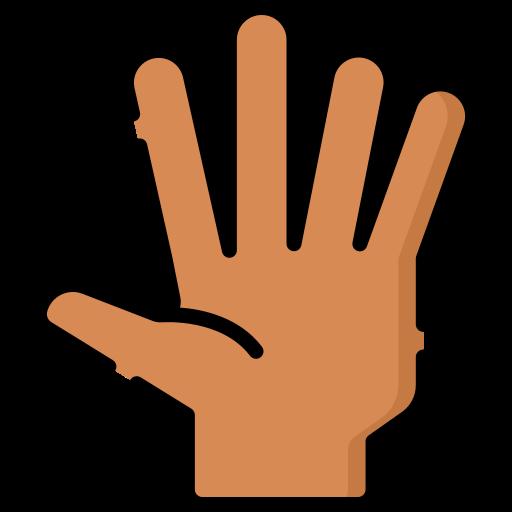 hola  icono gratis