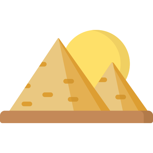 Pyramids  free icon