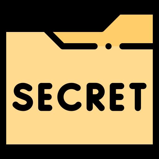 Secret file  free icon