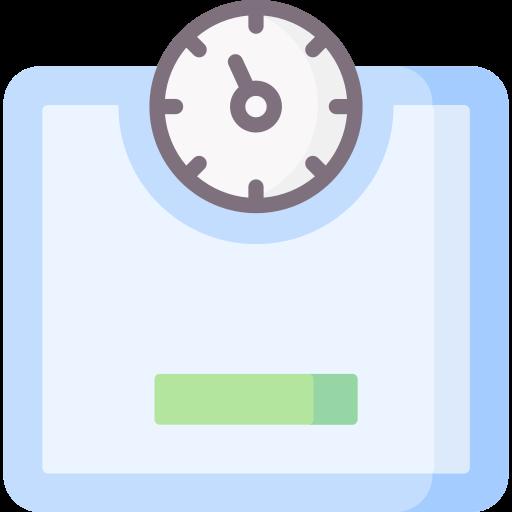 Body scale  free icon