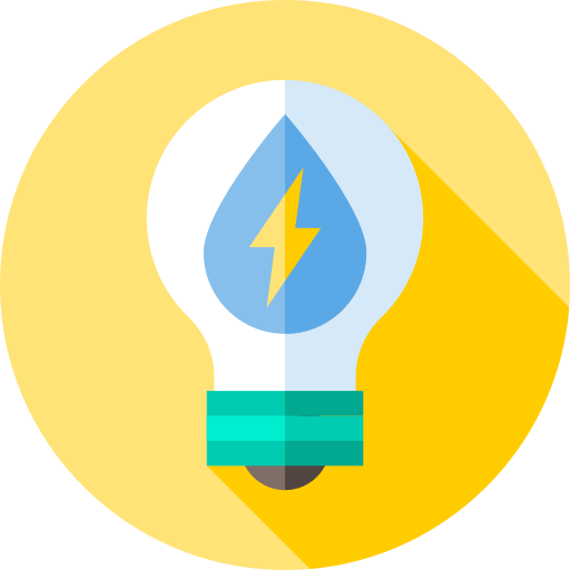 Water energy  free icon