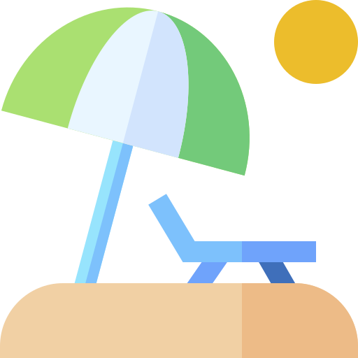 Sunbed  free icon
