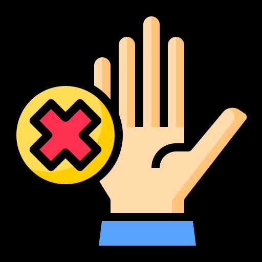 Touchless  free icon