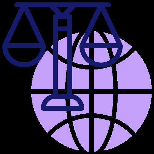 Международный закон  бесплатно иконка