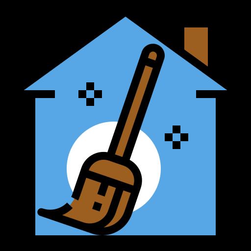nettoyage de la maison  Icône gratuit
