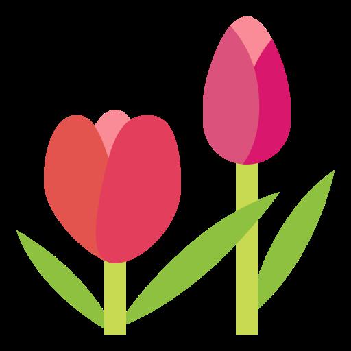 tulipán  icono gratis