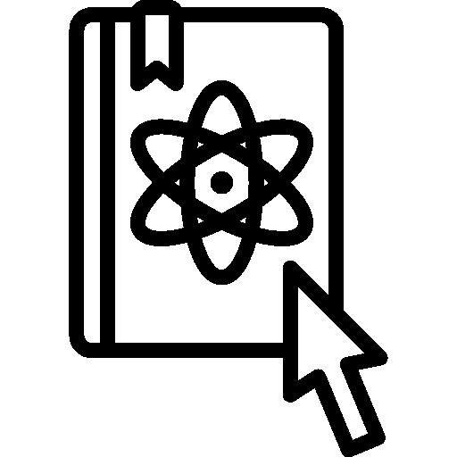libro de ciencia  icono gratis