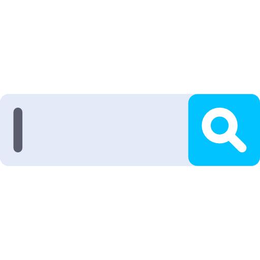 moteur de recherche  Icône gratuit
