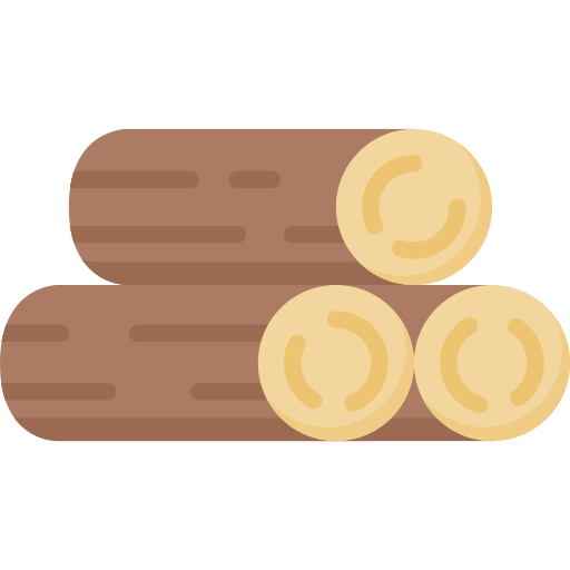 Wood free icon