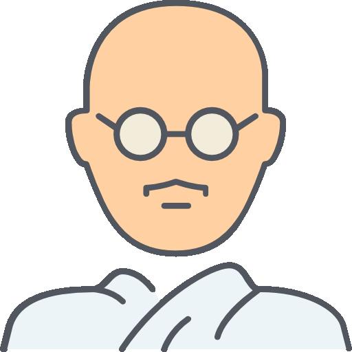 Gandhi  free icon
