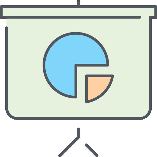 presentación  icono gratis