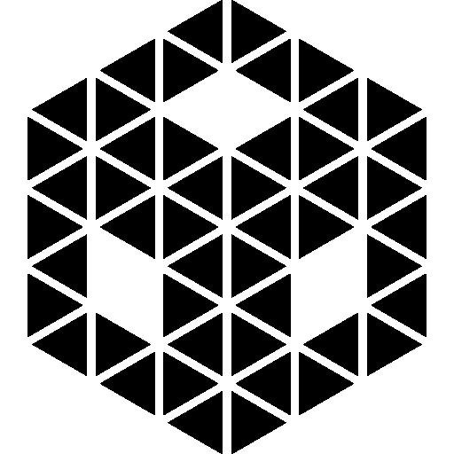 seite an seite eines würfels  kostenlos Icon