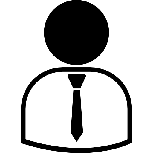 homem de negócios de terno e gravata  grátis ícone