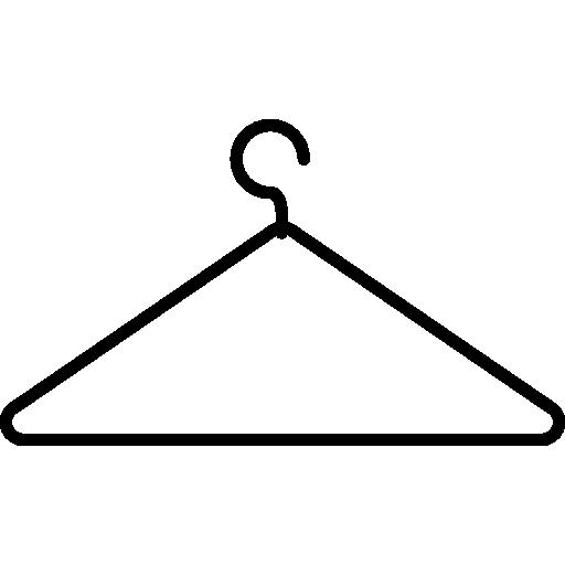 cintre contour mince  Icône gratuit