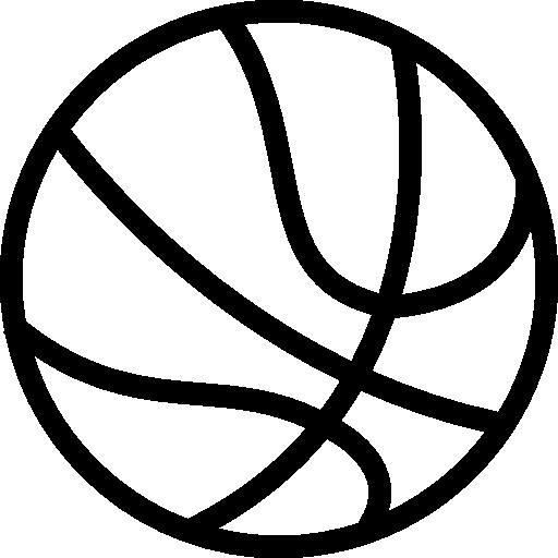 Basketball ball variant  free icon