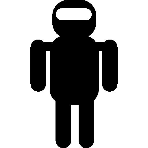 로봇 실루엣 변형  무료 아이콘