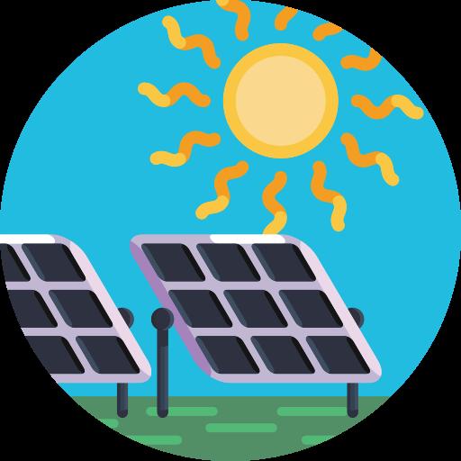 태양 전지 패널  무료 아이콘