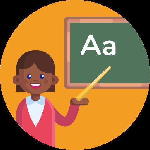 aprendizagem de línguas  grátis ícone