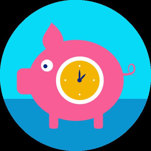 Время - деньги  бесплатно иконка