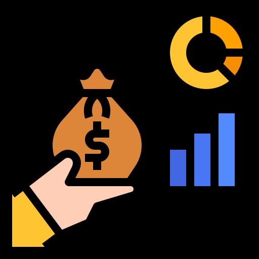 investir  Icône gratuit