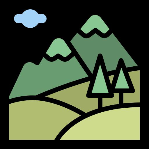 montaña  icono gratis