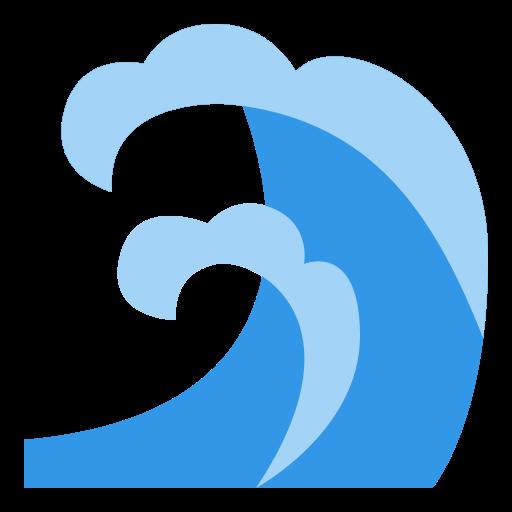 ondas do mar  grátis ícone