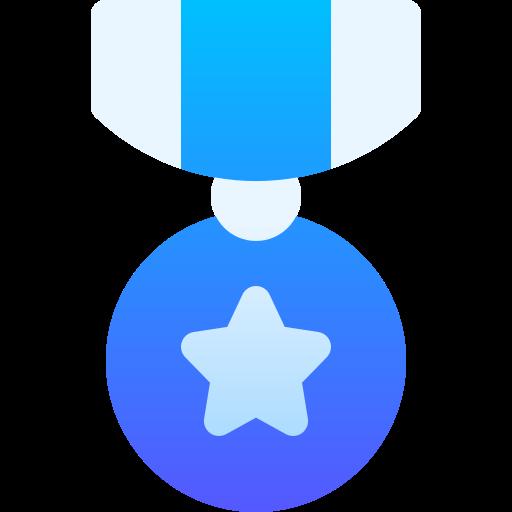 Почетная медаль  бесплатно иконка