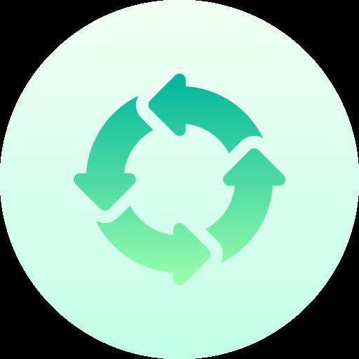 diagramme circulaire  Icône gratuit