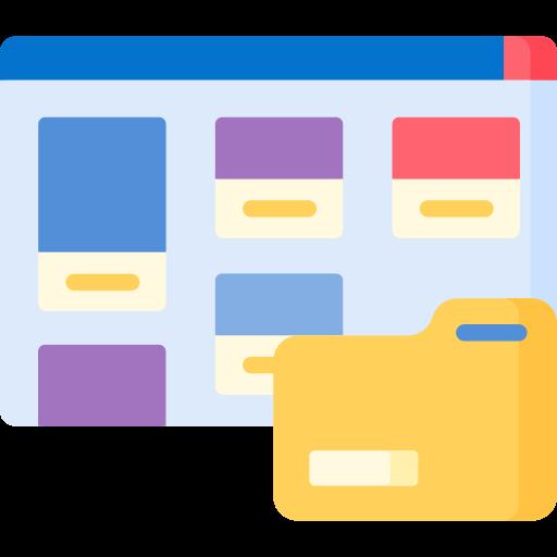Portfolio  free icon