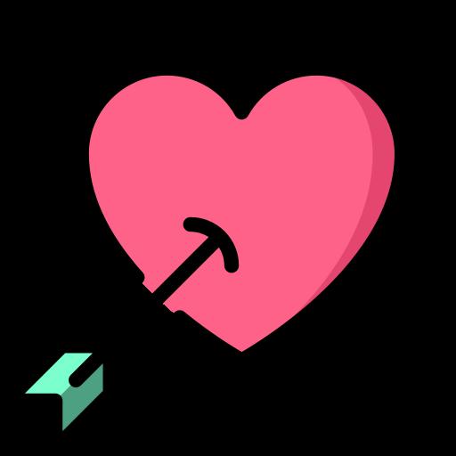 san valentín  icono gratis