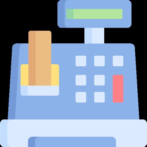 Cash register  free icon