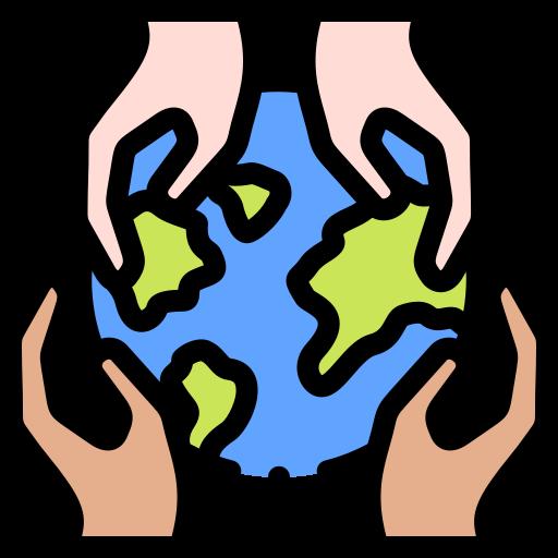 World humanitarian day  free icon