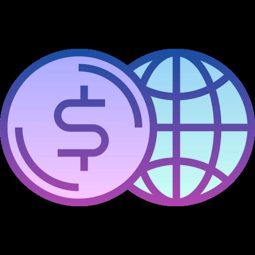 Global economy  free icon