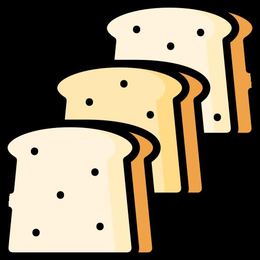 Sliced bread  free icon