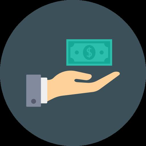 donner de l'argent  Icône gratuit