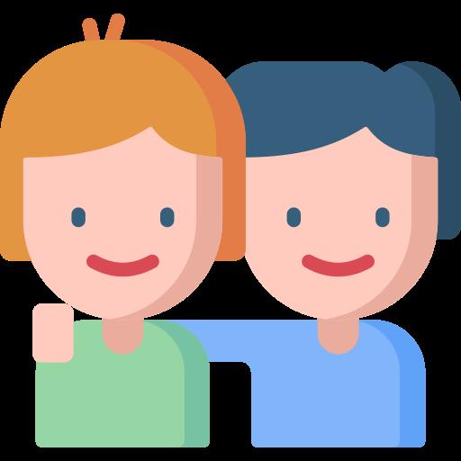 relation amicale  Icône gratuit