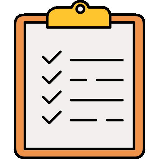 Checklist  free icon