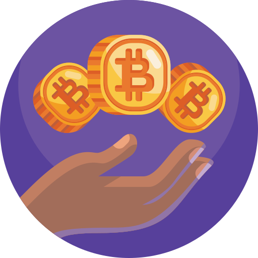 Bitcoins  free icon