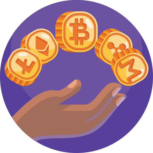 Cryptocurrencies  free icon